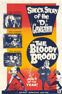 The Bloody Brood - 11 x 17 Movie Poster - Style A