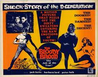 The Bloody Brood - 22 x 28 Movie Poster - Half Sheet Style A