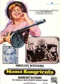 Bloody Mama - 11 x 17 Movie Poster - Spanish Style B