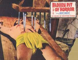 Bloody Pit of Horror - 11 x 14 Movie Poster - Style A