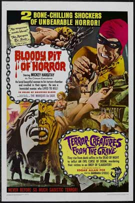 Bloody Pit of Horror - 27 x 40 Movie Poster - Style A