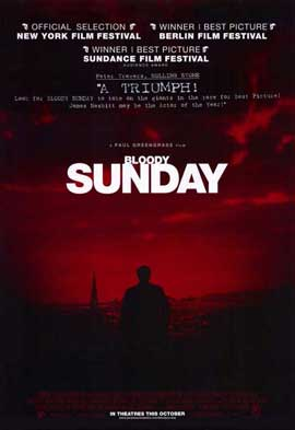 Bloody Sunday - 11 x 17 Movie Poster - Style A