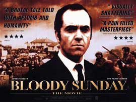 Bloody Sunday - 11 x 17 Movie Poster - Style B