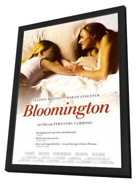 Bloomington - 11 x 17 Movie Poster - German Style A - in Deluxe Wood Frame
