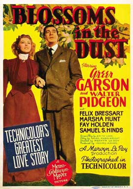 Blossoms in the Dust - 11 x 17 Movie Poster - Style A