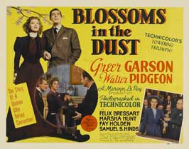 Blossoms in the Dust - 11 x 14 Movie Poster - Style A