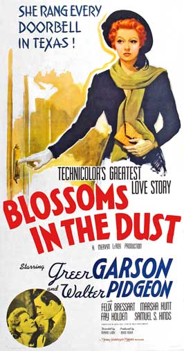 Blossoms in the Dust - 20 x 40 Movie Poster - Style A