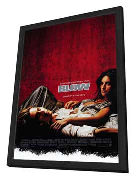 Blow - 11 x 17 Movie Poster - Style A - in Deluxe Wood Frame
