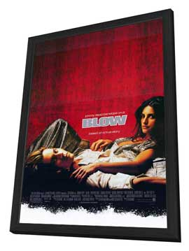 Blow - 27 x 40 Movie Poster - Style A - in Deluxe Wood Frame