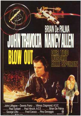Blow Out - 11 x 17 Movie Poster - German Style A