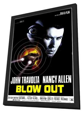 Blow Out - 11 x 17 Poster - Foreign - Style A - in Deluxe Wood Frame