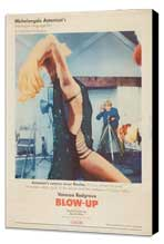 Blow-Up - 27 x 40 Movie Poster - Style G - Museum Wrapped Canvas