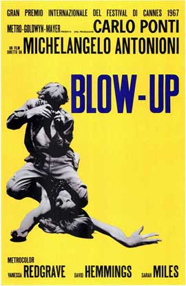 Blow-Up - 11 x 17 Poster - Foreign - Style A