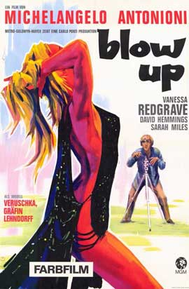 Blow-Up - 11 x 17 Movie Poster - German Style A