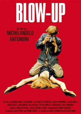 Blow-Up - 11 x 17 Movie Poster - German Style G