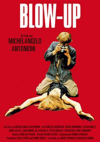 Blow-Up - 43 x 62 Movie Poster - German Style B