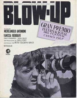 Blow-Up - 11 x 17 Movie Poster - Spanish Style H