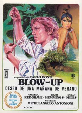 Blow-Up - 11 x 17 Movie Poster - Spanish Style I