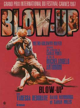 Blow-Up - 11 x 17 Movie Poster - French Style A
