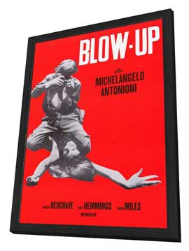 Blow-Up - 11 x 17 Movie Poster - Style A - in Deluxe Wood Frame