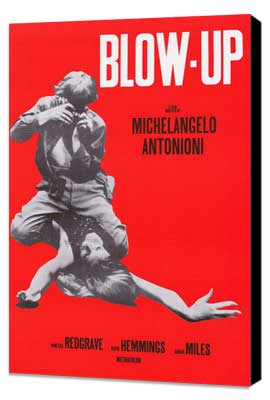 Blow-Up - 11 x 17 Movie Poster - Style A - Museum Wrapped Canvas
