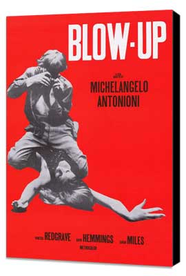Blow-Up - 27 x 40 Movie Poster - Style A - Museum Wrapped Canvas