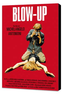 Blow-Up - 27 x 40 Movie Poster - German Style D - Museum Wrapped Canvas