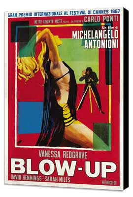 Blow-Up - 27 x 40 Movie Poster - Italian Style A - Museum Wrapped Canvas