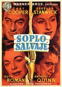 Blowing Wild - 27 x 40 Movie Poster - Spanish Style A