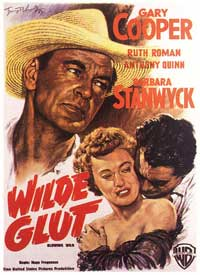 Blowing Wild - 11 x 17 Movie Poster - German Style A