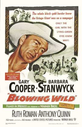 Blowing Wild - 27 x 40 Movie Poster - Style A