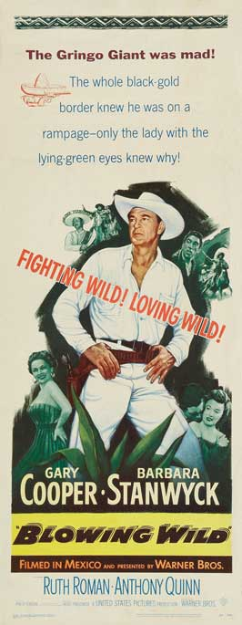 Blowing Wild - 14 x 36 Movie Poster - Insert Style A