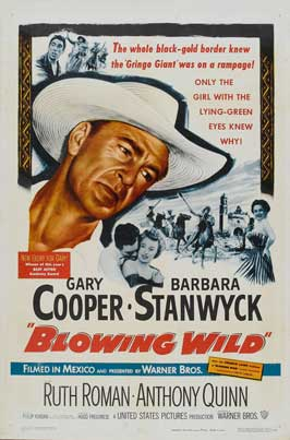 Blowing Wild - 11 x 17 Movie Poster - Style C