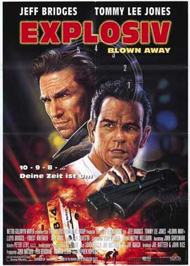 Blown Away - 11 x 17 Movie Poster - German Style A