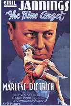 The Blue Angel - 27 x 40 Movie Poster - Style A