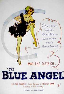 The Blue Angel - 11 x 17 Movie Poster - Style B