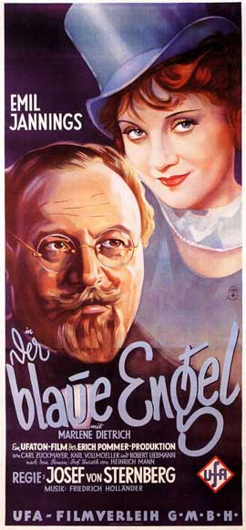 The Blue Angel - 14 x 36 Movie Poster - German Style A