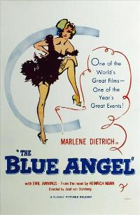 The Blue Angel - 27 x 40 Movie Poster - Style B