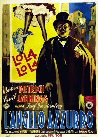 The Blue Angel - 27 x 40 Movie Poster - Italian Style I