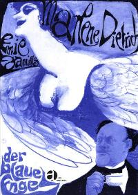 The Blue Angel - 27 x 40 Movie Poster - German Style M