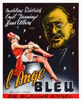 Blue Angel - 11 x 14 Movie Poster - Style A