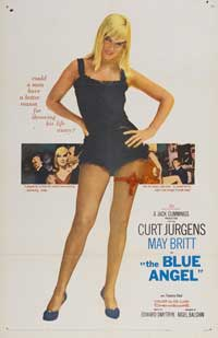 Blue Angel - 27 x 40 Movie Poster - Style B