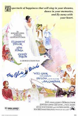 The Blue Bird - 27 x 40 Movie Poster - Style A