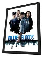 Blue Bloods (TV) - 11 x 17 TV Poster - Style A - in Deluxe Wood Frame