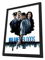 Blue Bloods (TV) - 27 x 40 TV Poster - Style A - in Deluxe Wood Frame