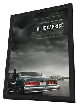 Blue Caprice - 11 x 17 Movie Poster - Canadian Style A - in Deluxe Wood Frame