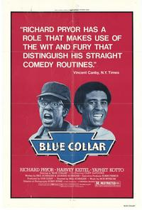 Blue Collar - 43 x 62 Movie Poster - Bus Shelter Style A