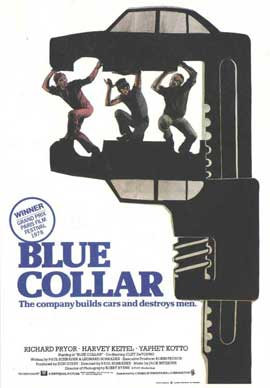 Blue Collar - 11 x 17 Movie Poster - Style B