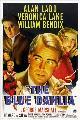 Blue Dahlia - 11 x 17 Movie Poster - Style A