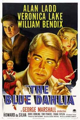 Blue Dahlia - 27 x 40 Movie Poster - Style A